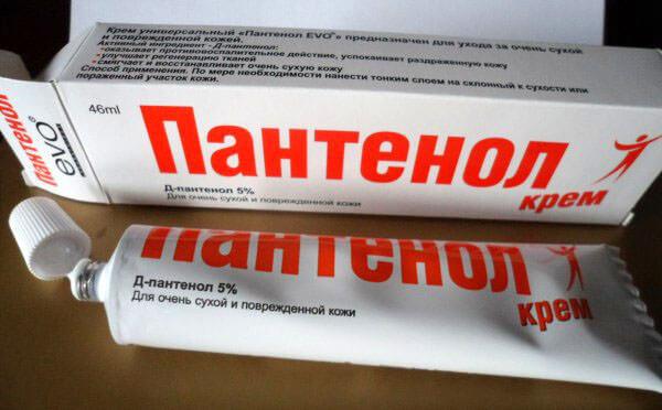 Пантенол для лечения болячек в носу