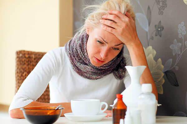 Воспаление пазух носа и головная боль сигнализируют о гайморите