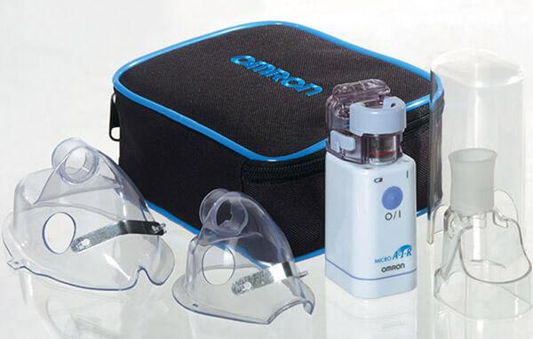 Ультразвуковой небулайзер используют для лечения грудных детей