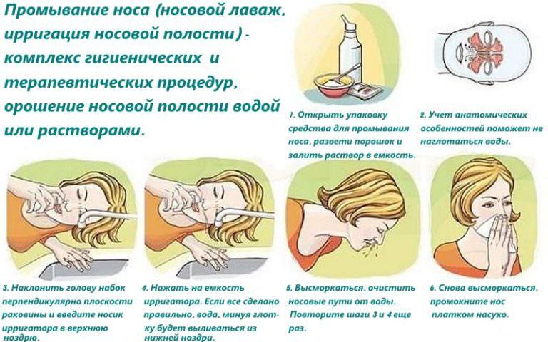 Как сделать промывание носа в домашних условиях