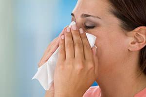 Кровь из носа бывает практически у каждого человека