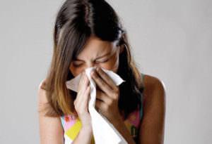 У взрослых насморк можно вылечить не раньше чем через 7 дней