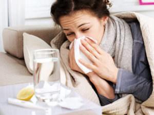 При насморке необходимо соблюдать питьевой режим