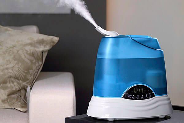Увлажнение воздуха в комнате
