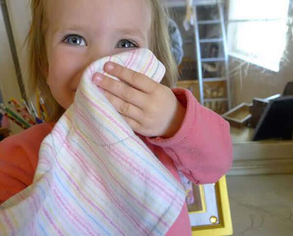 При респираторной вирусной инфекции у ребенка появляются сопли