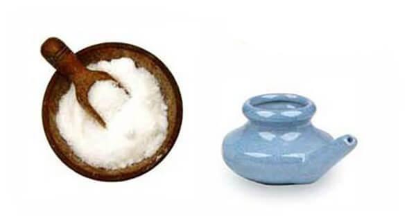 Приготовление солевого раствора для промывания носа