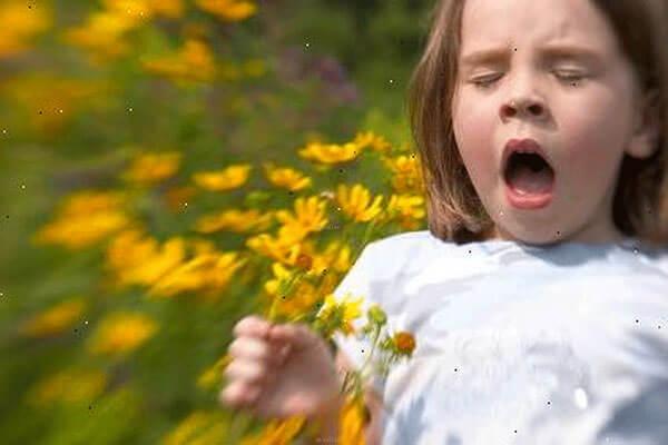 При контакте с аллергеном у ребенка развивается аллергический ринит