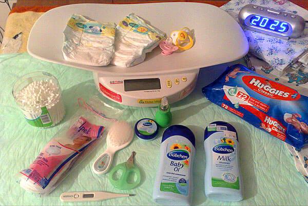 Средства для гигиенического ухода за малышом