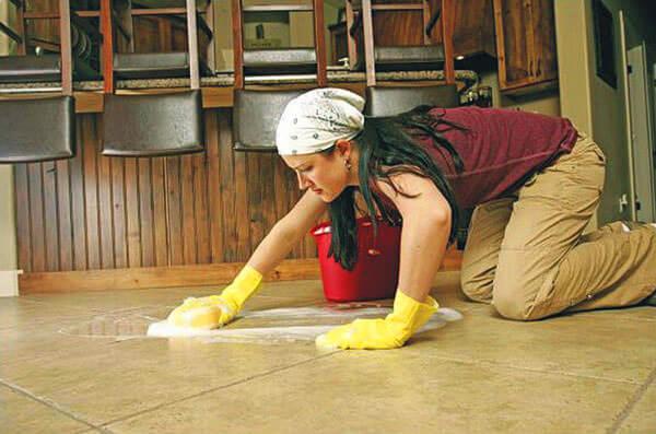 Влажная уборка помещения поможет в борьбе с насморком