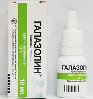 Для лечения пазух носа используют Галазолин