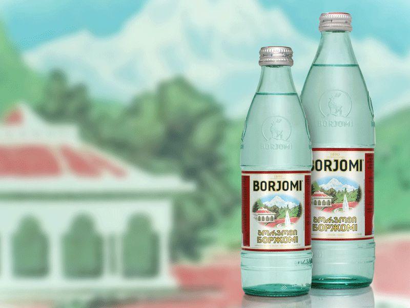 """Минеральная вода """"Боржоми"""" для ингаляций"""