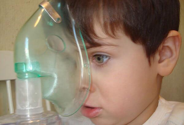 Лечение при помощи небулайзера