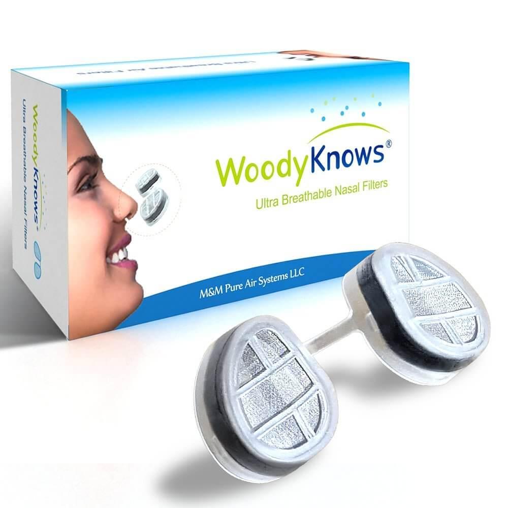 "Фильтры для носа ""WoodyKnows"""