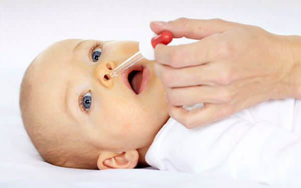 Очищение носа ребенку