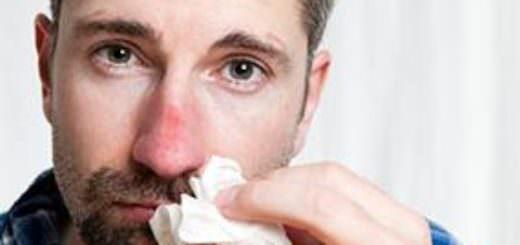 Нос опух