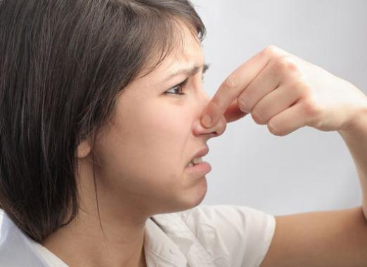 Запах в носу
